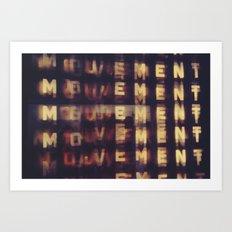Movement Art Print