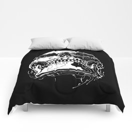 Carnibal / Ink Skull / White Comforters