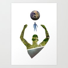 Same Stuff Art Print