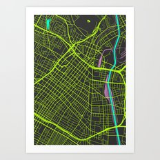 2nd Biggest Cities Are Cities Too - Los Angeles Art Print