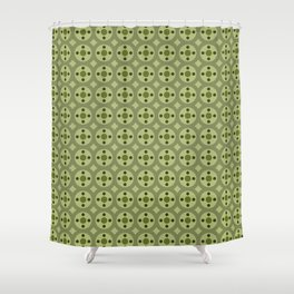 Boggle Cap Shower Curtain