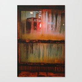 The Devil's Cash Machine Canvas Print