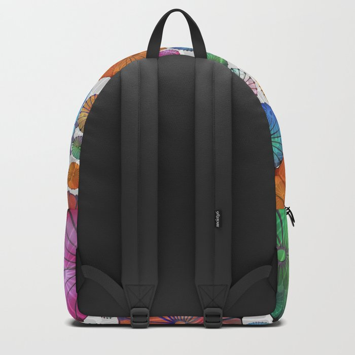 Abstract Floral Circles 5 Backpack