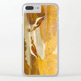 Little Sandpiper Bird Clear iPhone Case
