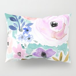 Willow Floral Pillow Sham