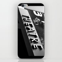 theatre iPhone & iPod Skins featuring Theatre Sign by Griffin Lauerman