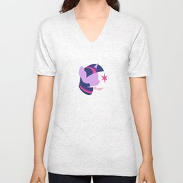 Twilight Sparkle Unisex V-Neck