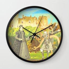 GOODBYE YOUR MAJESTY Wall Clock