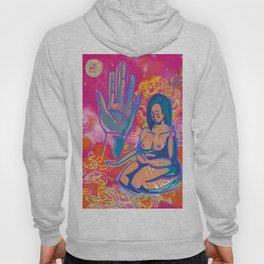 Pink Mudra Meditation Hoody