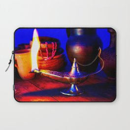 Magic Lamp of Aladdin. Call out the Genie Laptop Sleeve