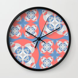023 Abstract white, grey and black art for home decoration Wall Clock