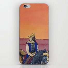 KINGS BEFORE SLAVES iPhone Skin