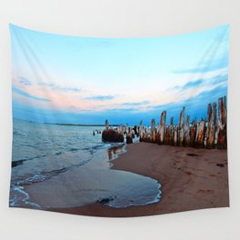 Relics by the Sea Wall Tapestry