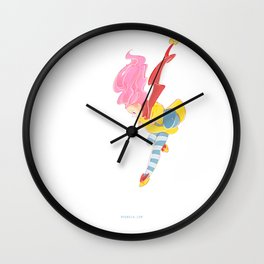 jump jump jump! jumping down! Wall Clock
