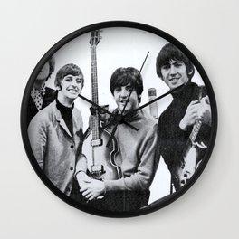 British Invasion Rock N Roll Wall Clock