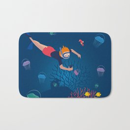 Diver Bath Mat