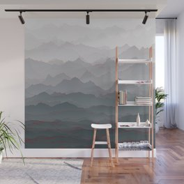 Mountains of Madness I Wall Mural