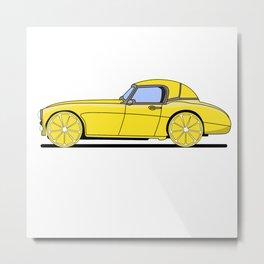 Lemon Car - II Metal Print