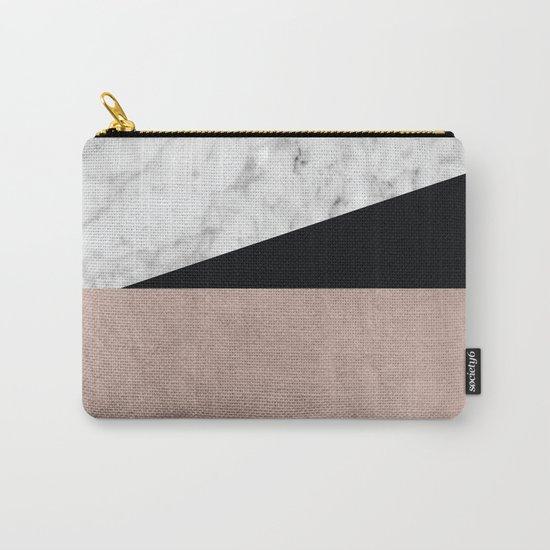 Minimalist Geometric 2 Carry-All Pouch