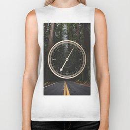Gold Compass - The Road to Wisdom Biker Tank