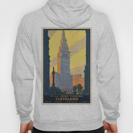 Vintage poster - Cleveland Hoody
