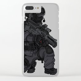 Israeli IDF Commando Operator Clear iPhone Case