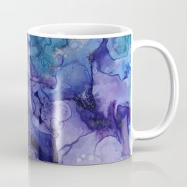 Abstract Watercolor Coastal, Indigo, Blue, Purple Coffee Mug