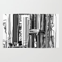 Abstract City #2 Rug