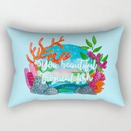 You beautiful, tropical fish Rectangular Pillow