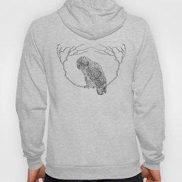 Owl In Tree (Print) Hoody