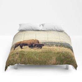 Bison Land Comforters
