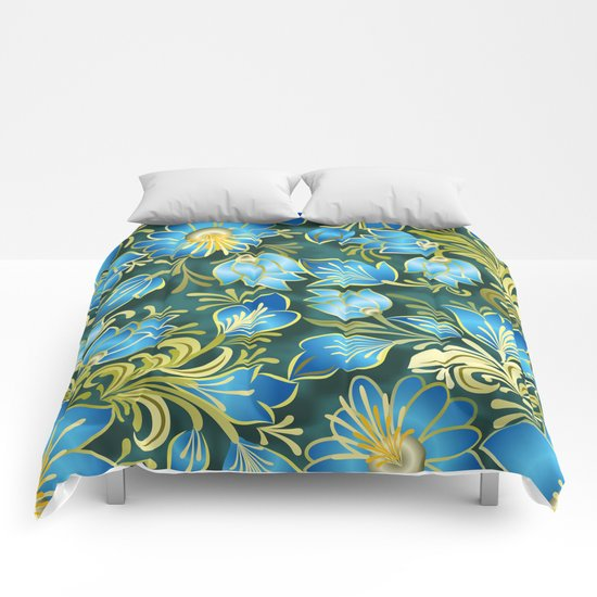 Shabby flowers #15 Comforters