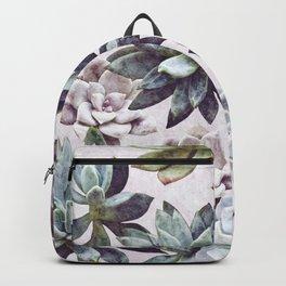 Succulents design Backpack