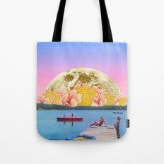 Pink lake Tote Bag