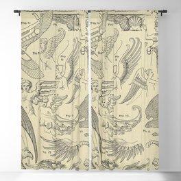 Winged Mythology Blackout Curtain