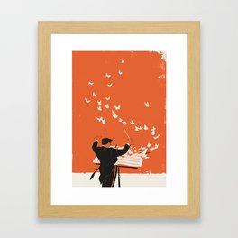 Managing Change Framed Art Print