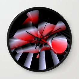 3-color dervish Wall Clock