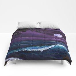 Romantic Kauai Moonlight Comforters