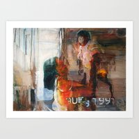 Mother and Child 03 Art Print