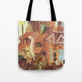 """""""Reconstruction of Cuaxies"""" Tote Bag"""
