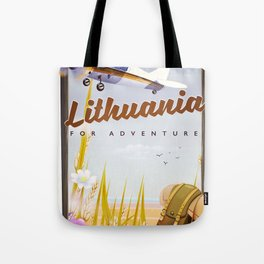 lithuania For an adventure Tote Bag