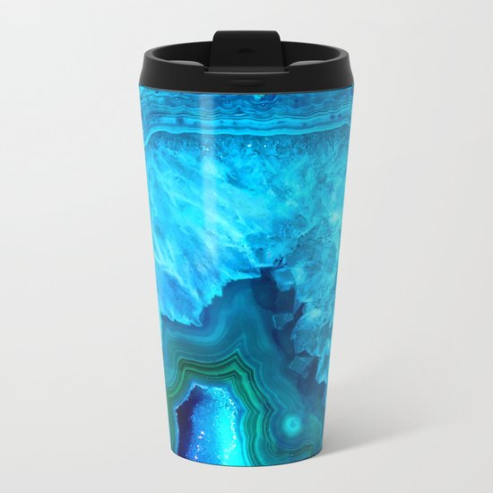 Crystal beauty Metal Travel Mug