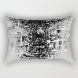 مكسور Rectangular Pillow