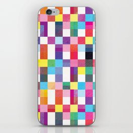 Modern Quilt - Summer Bright iPhone Skin