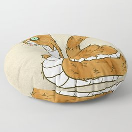 Cat Snake Floor Pillow