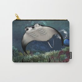 Awesome manta Carry-All Pouch