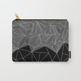 Digital Zentangle Incomplet Dark Carry-All Pouch