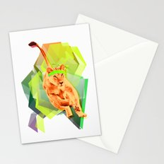 Lioness fitness Stationery Cards