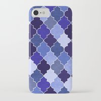 morocco iPhone & iPod Cases featuring Morocco Blue by Jacqueline Maldonado