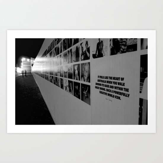 Australia, Sydney Opera House Base Art Print
